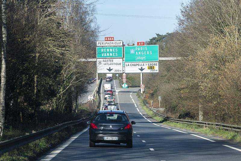 Une convention de financement pour l'aménagement de la Porte de Gesvres sur l'autoroute A11